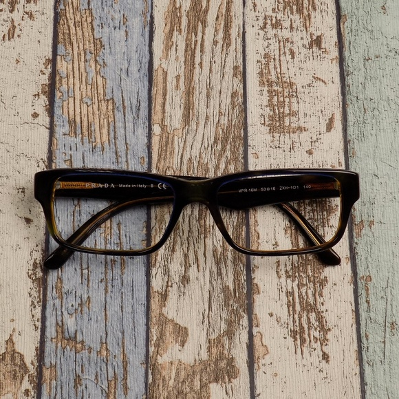 0b7e3f64567 Prada VPR16M Women s Eyeglasses ERP531